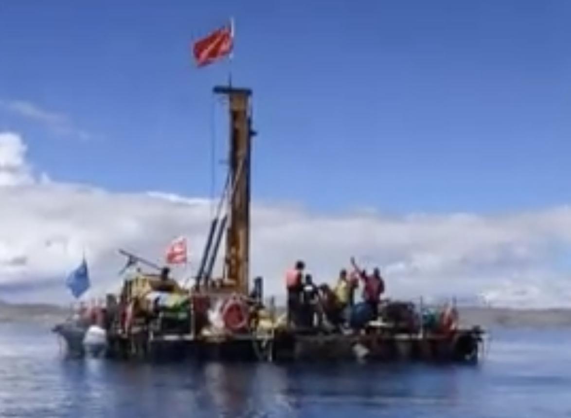 144.79米!科学家成功钻取高原湖泊最长岩芯