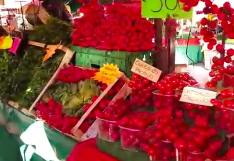 带你看看意大利农贸市场