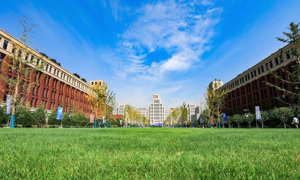草地上的建筑  描述已自动生成
