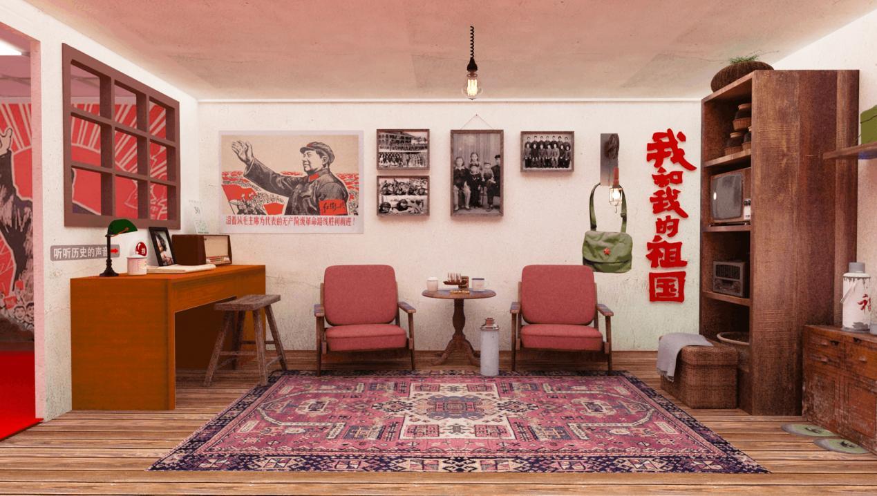 房间里的家具  描述已自动生成