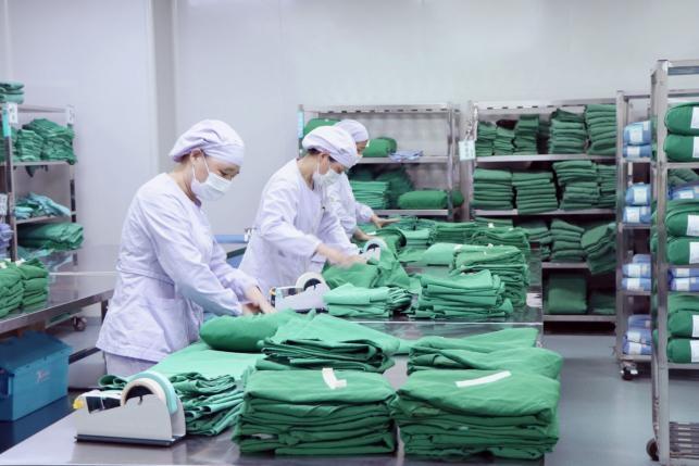 第三部分:江苏新供销基金公司投资企业南京喜悦科技公司全力保障南京各大医疗机构消毒物资供应